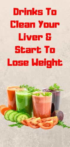 Our liver converts the nutrients present in our diets into substances that the body can use, stores these substances, and supplies cells with them when needed. It also takes up toxic substances and converts them into harmless substances or makes sure they are released from the body. Clean Your Liver, Lose Weight, Weight Loss, Liver Cleanse, Healthy Tips, Diets, Beverages, Cleaning, Fruit