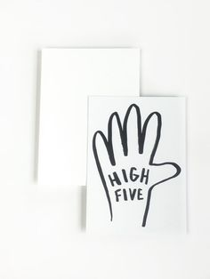 5 flat notecards accolades set of notecards by tammieartdesign Illustration Art Drawing, Illustrations, Lettering Design, Hand Lettering, Gifts For An Artist, Paper Goods, Note Cards, Congratulations, How To Draw Hands