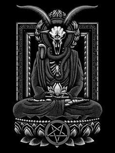 Baphomet Inner Peace by Snazzygaz