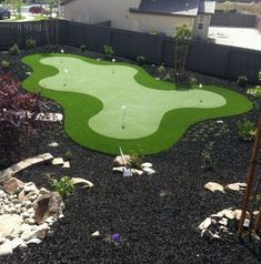 Backyard Putting Green golf outing, funny golf sayings, golf jokes