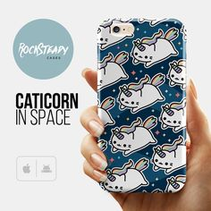 Space Caticorn Cat Unicorn iPhone 6 case iPhone by RockSteadyCases