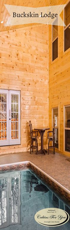 A large group cabin near beautiful Pigeon Forge, Buckskin Lodge is designed with fun, family, and friends in mind.