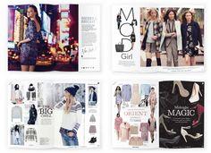New Look magazine spreads