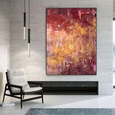 Original Abstract Painting Extra Large Wall Art Textured image 2 Textured Canvas Art, Abstract Canvas Art, Canvas Wall Art, Acrylic Wall Art, Acrylic Painting Canvas, Extra Large Wall Art, Large Art, Office Wall Art, Modern Wall Decor