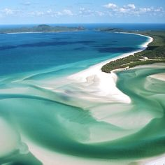 Whitehaven Beach, Whitsunday islands in Autralia