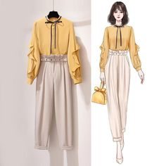 Size tiling measurement, the error is allowed to be around The actual product shall Due to Teen Fashion Outfits, Look Fashion, Hijab Fashion, Korean Fashion, Girl Fashion, Fashion Ideas, Fashion Drawing Dresses, Fashion Illustration Dresses, Fashion Dresses