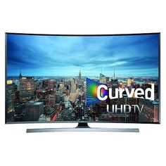 nice Samsung UN65JU7500 Curved 65-Inch 4K Ultra HD 3D Smart LED TV (2015 Model) - For Sale