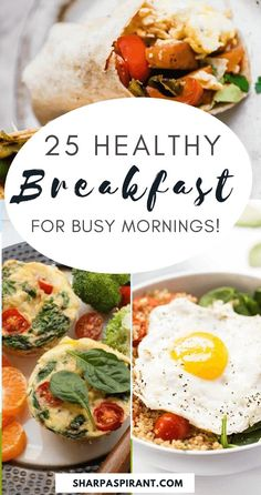 Quick and healthy breakfast ideas you can meal prep, yummy and ready in 30 mins or less. You can enjoy your mornings even if you're busy! meal prep, meal prep for the week, meal plan, meal prep recipes, #mealprepideas #breakfastideas #breakfastrecipes via www.sharpaspirant.com Healthy Breakfast Meal Prep, Quick Healthy Meals, Breakfast Ideas, Healthy Recipes, Eating Healthy, Healthy Food, Salmon Breakfast, Meal Prep For Beginners, Meal Prep For The Week
