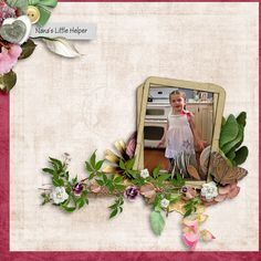 """Nana's Little Helper - Created using elements from """"Double Dip: Just Love, Odysseus  Penelope"""" by ADB Designs and The Urban Fairy #thestudio #adbdesigns #theurbanfairy"""
