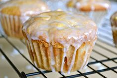 Peach and White Chocolate Chip Muffins - Mother Thyme