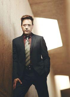 Robert Downey Jr. (newly released portrait by Kurt Iswarienko, from fall 2014)