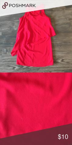 Red F21 dress size small Adorable Forever 21 red dress. Perfect to dress up or down. Size small. No signs of wear Forever 21 Dresses