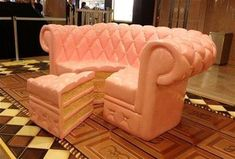 Here's a Couch That Looks Like a Very Delicious Cake