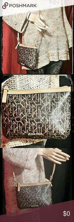 "Calving Klein cross body . Measurements: Drop: 23""  L: 9""  W: 2""  D: 7"" . C18 Calvin Klein Collection Bags Crossbody Bags"