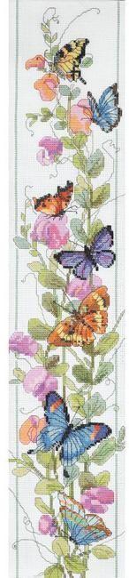 Butterflies - Cross Stitch Patterns & Kits - 123Stitch.com