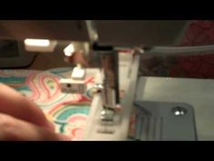 How to sew a buttonhole in one step for singer machines