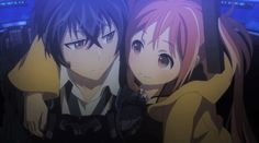 Infected youths help save humanity in the sci-fi anime series Black Bullet on Blu-ray from Sentai Filmworks. Black Bullet, Sci Fi Anime, Anime Manga, Anime Sites, Kaito Shion, Anime Reviews, Episode Guide, Cursed Child, Me Me Me Anime