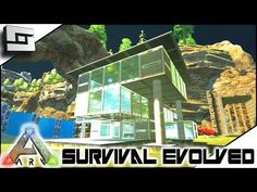 Perfect Cool ARK: Survival Evolved   MODERN HOUSE BUILDING! S2E7 ( Modded Ark  Extinction Core