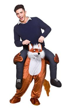 Carry Me Ride On Adults Fancy Dress Animal Fun Stag Party Mens Costume Outfits  sc 1 st  Pinterest & Carry Me Teddy Bear Adult Costume | Products | Pinterest | Teddy ...