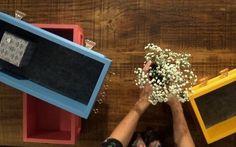 Faça você mesmo: conjunto de gavetas