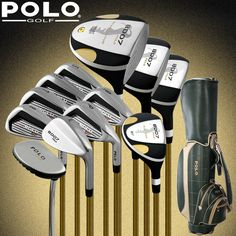 14d4fffefd6 Brand POLO Collections and Professional Gamer golf clubs full set with bag mens  golf clubs golf irons set golf graphite shafts -in Golf Clubs from Sports  ...
