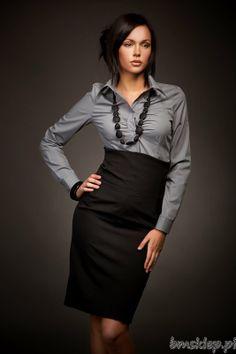 Elegancka #spódnica z podszewką i z zamkiem z tyłu Elegant #linen zipper back #dress