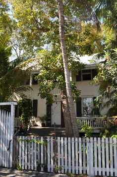 Key West home of poet Elizabeth Bishop, 624 White Street