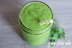 Pineapple-Parsley-Green-Smoothie