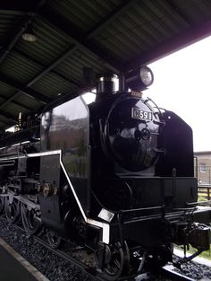 Type C59 Steam Locomotive, in Kyushu Railway Memorial Park