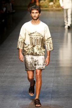 Dolce & Gabbana Menswear Spring Summer 2014 Milan via http://nwf.sh/12he6dF