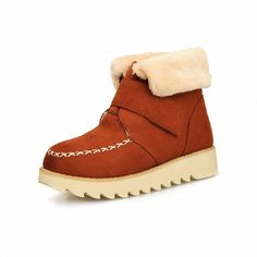 Show Shine Women's Fashion Hook and Loop Platform Ankle Boots >>> Click image for more details.