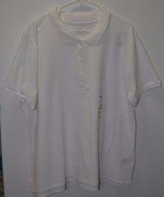 ec3a47c2befe4 NEW Old Navy Women s White Polo Shirt Short Sleeve Plus size XXL  OldNavy   PoloShirt