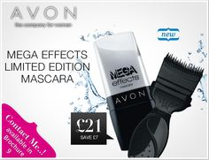 Limited Edition Mega Effects Mascara in C09 www.tinyurl.com/AvonByKat