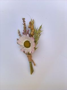 Country Wild Buttonhole , boutonniere, rustic wedding, grooms buttonhole, natural wedding, dried flowers, wedding keepsake, flowers by BellaPoppyFlowerArt on Etsy