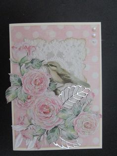 Kaisercraft Lady Like . Shabby Chic Cards, Vintage Fashion, Vintage Style, Christmas Makes, Graphic 45, Card Tags, Paper Design, Cardmaking, Birthday Cards