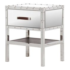 venetian lido mirrored side table liked on polyvore featuring home furniture tables accent tables glass table shelves furniture glass shelf art deco mirrored furniture
