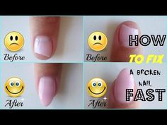 How to Repair a Broken Gel Nail FAST - http://www.nailtech6.com/how-to-repair-a-broken-gel-nail-fast/