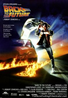Gelecege Donus - Back to the Future - 1985 - BRRip Film Afis Movie Poster