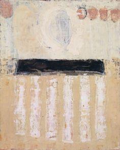marilyn jonassen Untitled #9, 2008, encaustic on clay board, 16in x 20in x 2in