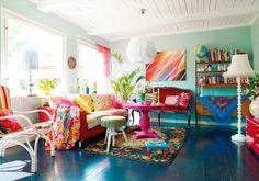 eclectic. love. Home Interior, Interior Design Living Room, Living Room Designs, Living Room Decor, Living Rooms, Modern Interior, Bohemian Interior, Interior Photo, Decor Room