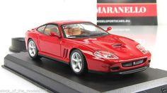 "Ferrari 575M Maranello 1:43  Altaya mod&mag № ""Ferrari Collection #Altaya #Ferrari575MMaranello"