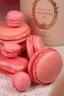 Laduree Rose Macaroons. My Fave. Fathers day part of present also