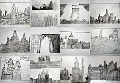 ww2 buildings for blitz paintings
