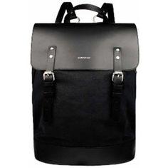 Hege Black Backpack