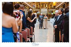 Wedding Ceremony at the Hyatt Regency at The Arcade in Cleveland, Ohio