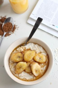 Coconut Oats with Brown Sugar Bananas | 24 Delicious Breakfast Bowls That Will Warm You Up