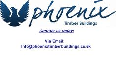 Phoenix timber buildings offers bespoke, unique and affordable garden buildings, timber buildings and timber rooms in surrey, hamshire and berkshire. Timber Buildings, Unique Buildings, Garden Buildings, Building Extension, Site Office, Office Is Closed, Site Visit, Just A Reminder, Hobby Room