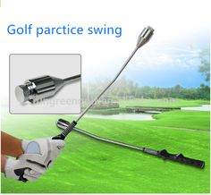 2017 New Golf Swing Grip Trainer Golf Swing Practice Tool Adjustable Weight Rod With Grip Golf Training Aids Golf Accessories