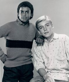 Alfonso Ribeiro and Ricky Schroeder in Silver Spoons - 1985. I was in love with both of these guys.
