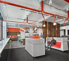 International Bancard in Detroit | design by ROSSETTI @rossettidesign | photo by John D'Angelo |